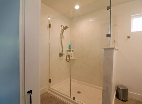 The oversized shower